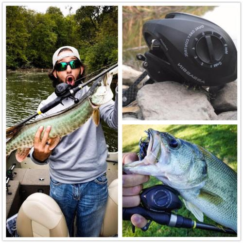 KASTKING ASSASSIN CARBON BAITCASTING REEL OUR