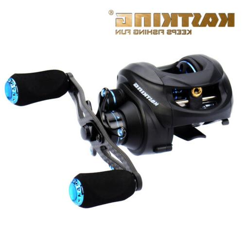 KastKing Assassin Carbon Fiber Low Profile Reel Left-Handed
