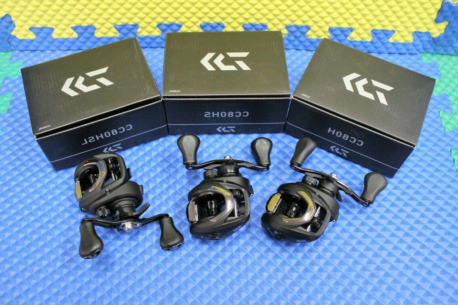 baitcast carbon composite frame casting reels cc80h