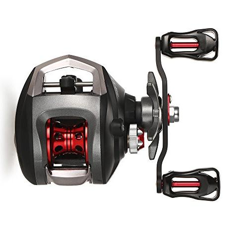 Lixada Spinning Reel 11+1BB Carp Feeder 5.2:1 Ratio Double Right Hand Interchangeable