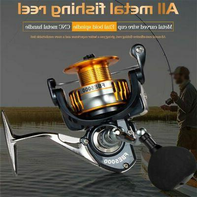 Baitcasting Fishing Reel 17+1BB 5.0:1 Fishing Left/Right Hand