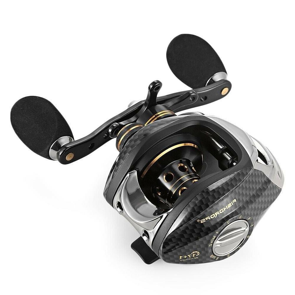 baitcasting fishing reel lb200 7 0 1
