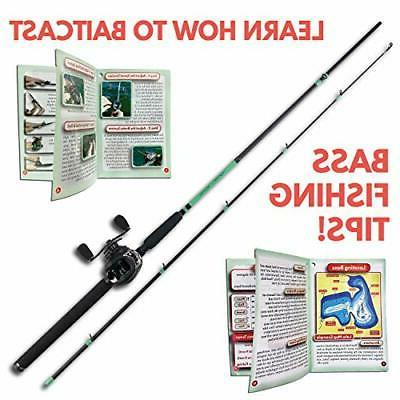 Tailored Tackle Bass Rod and Reel Right Handed Ft
