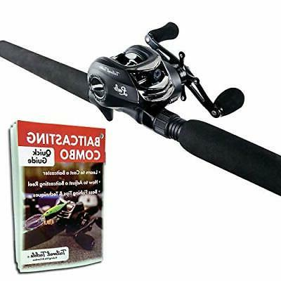 bass fishing rod and reel right handed