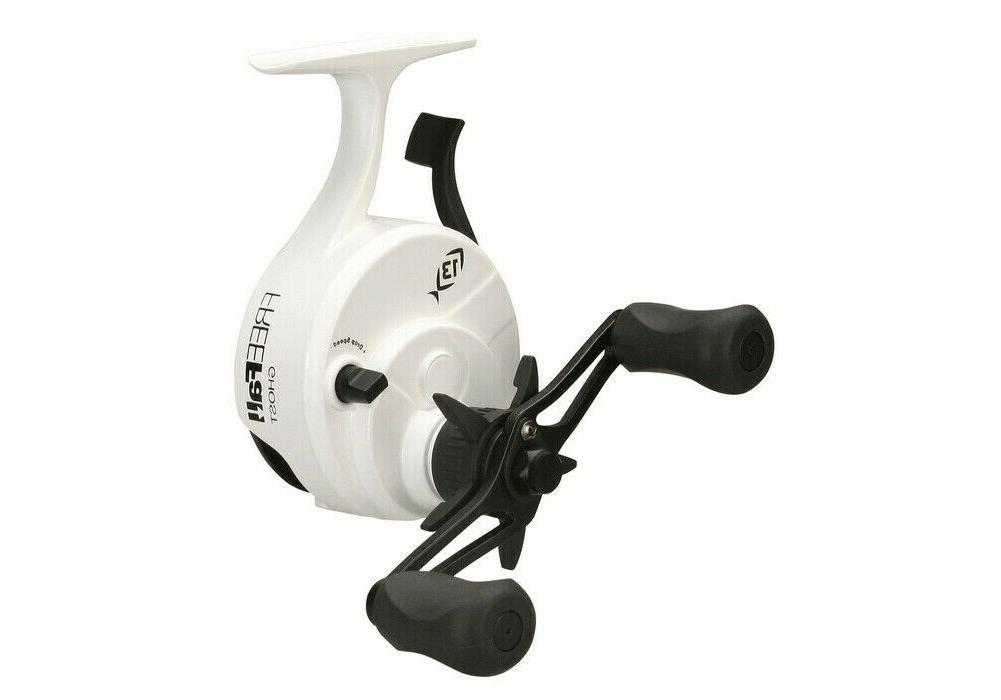 13 Black Freefall Ghost Ice Reel BBFFG25LH LEFT