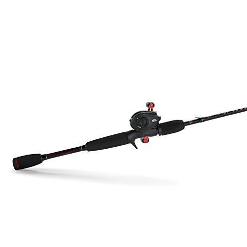 Abu Garcia BMAX3/662M Max Baitcast Fishing Reel Combo, 6.5 Feet, Power