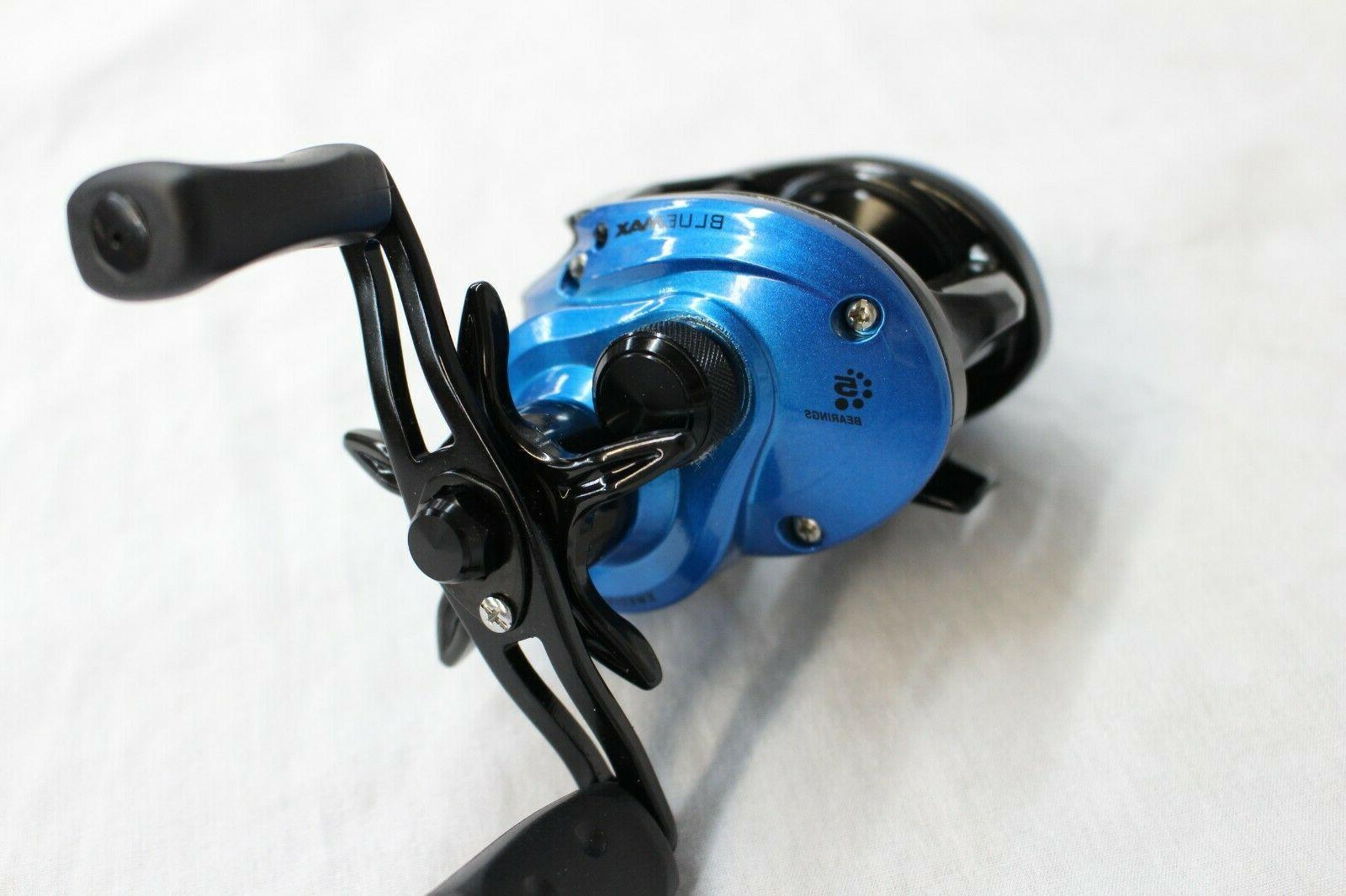 blue max low profile right handed baitcasting