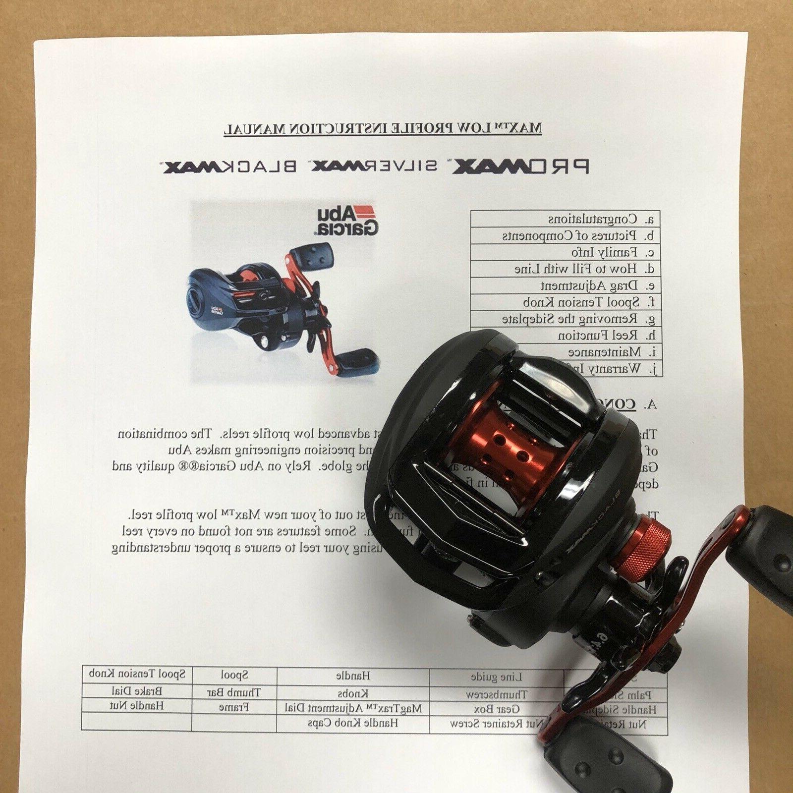 BRAND NEW Garcia BMAX3 Low Profile Baitcast