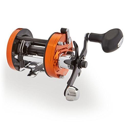 Catfish Round 6500 Ratio, 4 Bearings, Retrieve Max Drag,