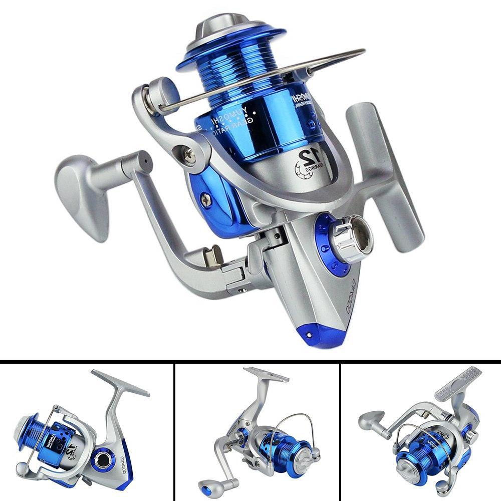 Vertvie Fiber Fishing <font><b>Reels</b></font> Spinning Plastic with Metal