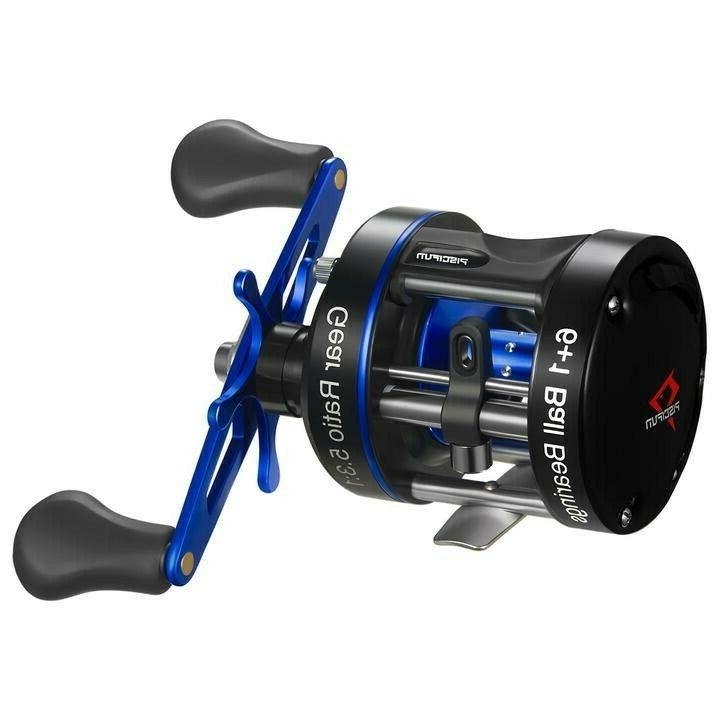 chaos xs round baitcasting reel left handed