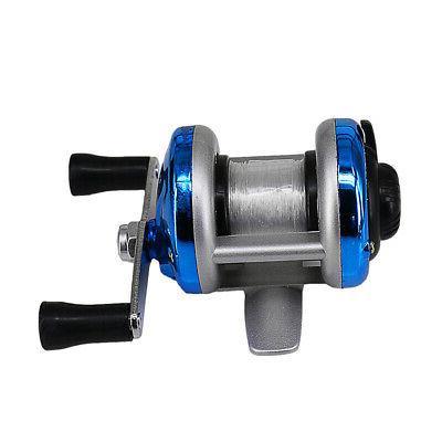 deukio mini portable ice fishing reel 1bb