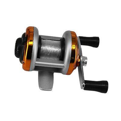 DEUKIO Portable Fishing Rocker Baitcasting Reel US