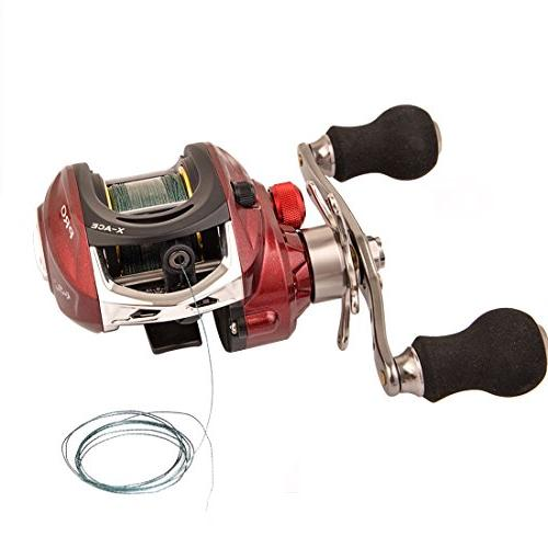 fishing reel baitcasting