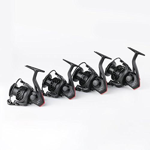 BLISSWILL Reel Reel Smooth Aluminum-Carbon Fiber Drag-12+1BB Powerful Spinning Reel Smooth Free Graphite Spool
