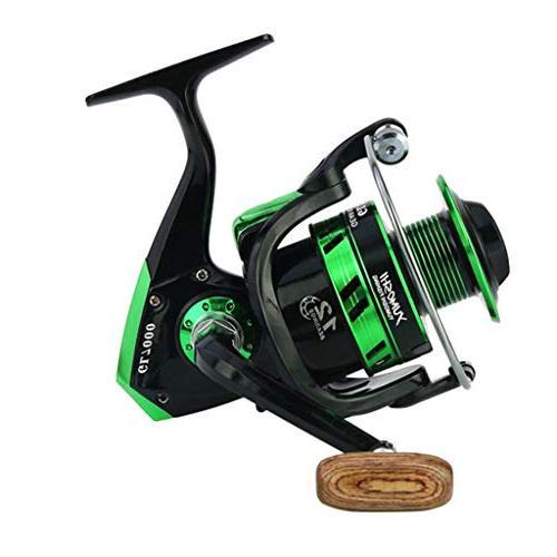 Spinning 5.5:1 10BB Casting 8kg/17Lb Fishing Reels Zulmuliu