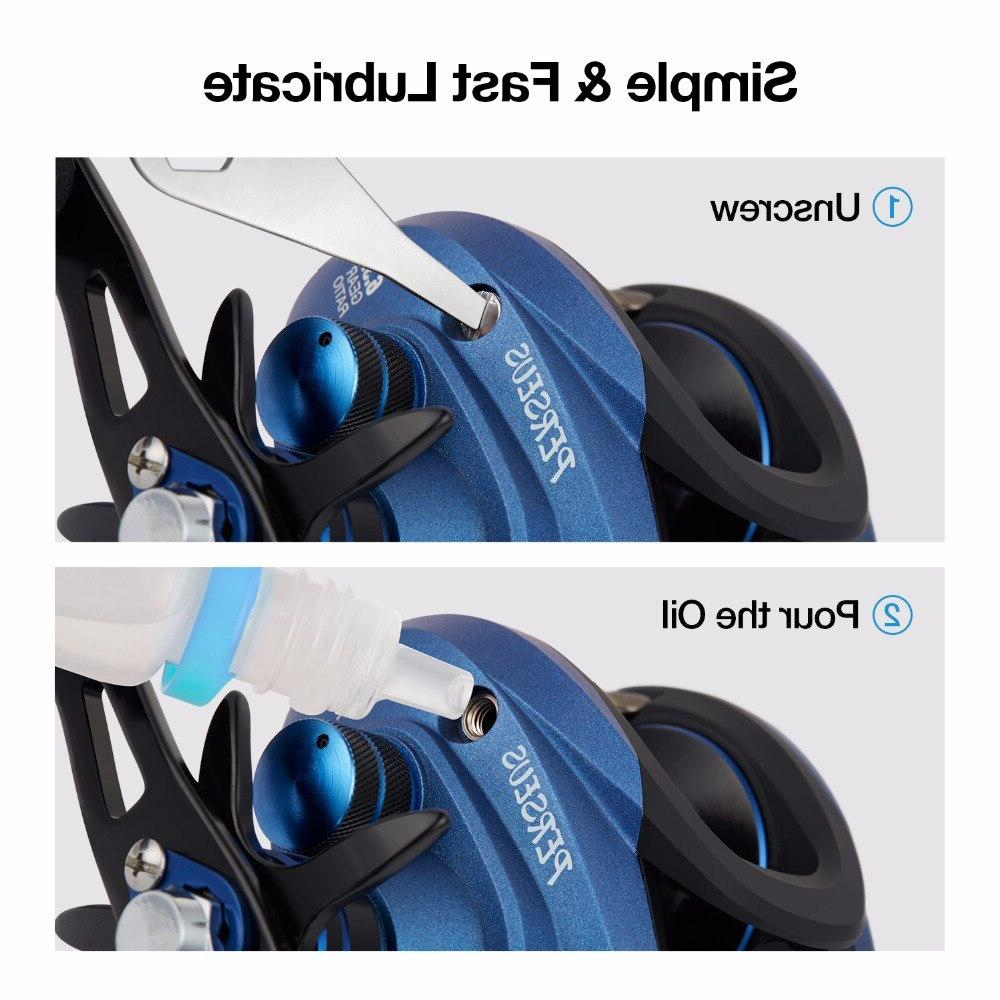 <font><b>Piscifun</b></font> Fishing 8.4KG Max brake+centrifugal 6 Light <font><b>reel</b></font>