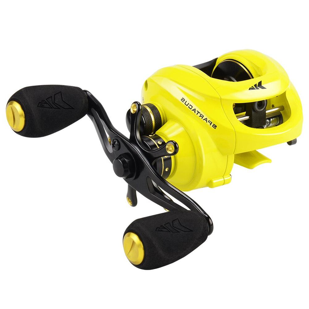<font><b>KastKing</b></font> <font><b>Baitcasting</b></font> Fishing <font><b>Reel</b></font> Drag 12 Bearings for Bass Fishing