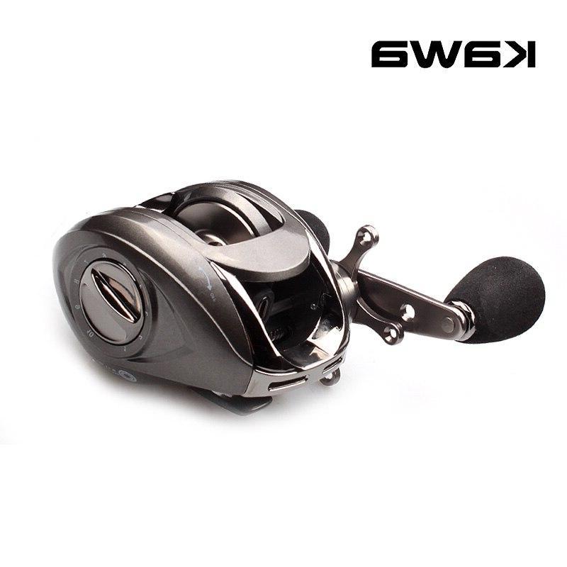 Kawa <font><b>Baitcasting</b></font> 6BB Right Brake Water Wheel