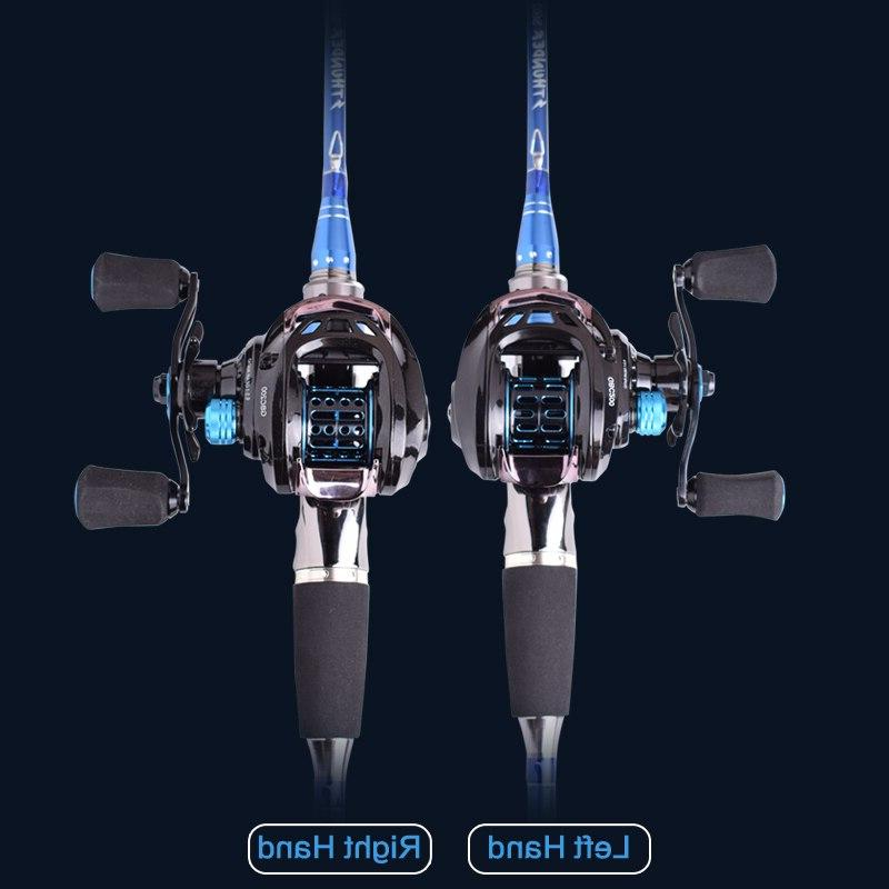 Mavllos GB Light BFS <font><b>Reel</b></font> Left Hand Double 6.5:1 Fishing Bait