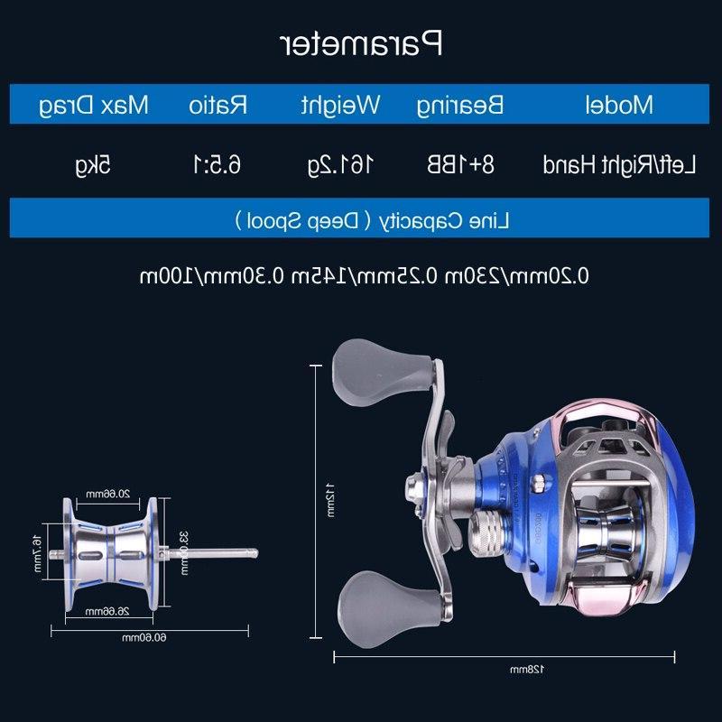 Mavllos GB Ultra Light BFS <font><b>Reel</b></font> Double Metal Spool Fishing