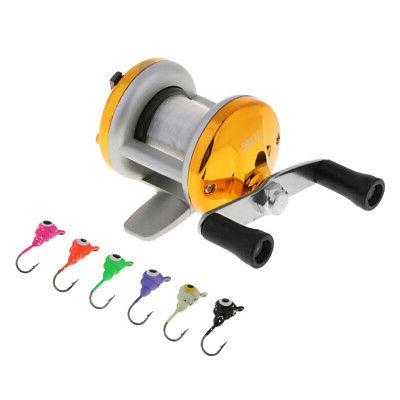ice fishing reel drum reel baitcasting reel