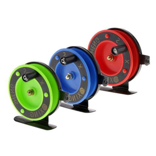 ice fishing reel wheel fly drum rock