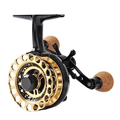 inline ice fishing reel right