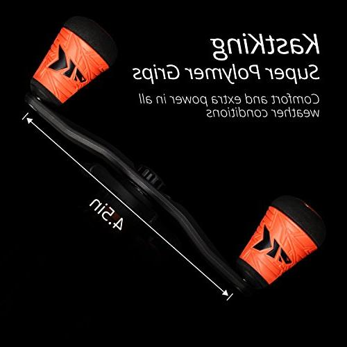KastKing Speed Demon Pro Baitcasting Reel, High Speed 9.3:1 Gear Double Shielded Freshwater,Tournament Golf Style Grips