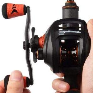 KastKing Speed Pro Baitcasting Reel, 9.3:1 Gear Double Stainless Freshwater,Tournament Golf Grips