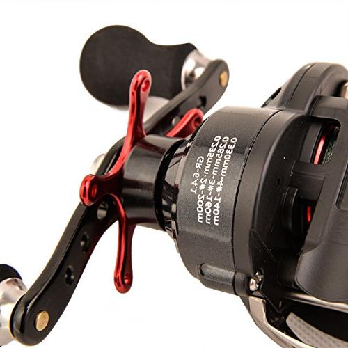 BLISSWILL Reel Grey Fishing 14+1BB Fiber Magnetic Brake System Approved