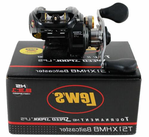 LEW'S TOURNAMENT MB SPOOL TS1XHMB RIGHT HAND BAITCAST
