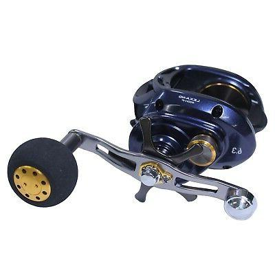 Daiwa Lexa HD Right Hand 6.3:1 Power Handle Baitcast Reel -