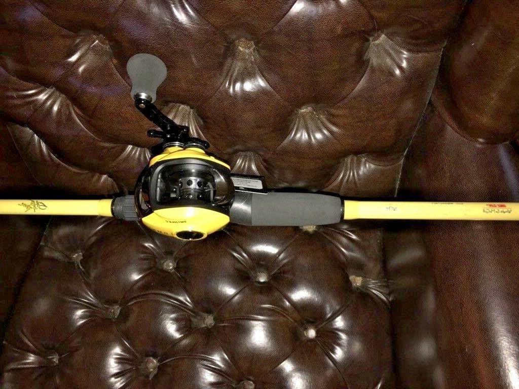 LH McGill Jig&Worm Rod 14BB LEFT Baitcaster 7.0:1
