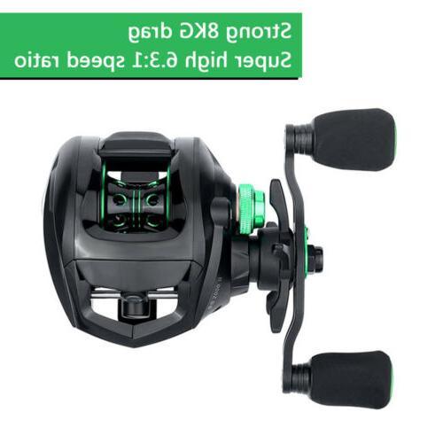 Lightweight Baitcasting Low BB 6.3:1 Smooth