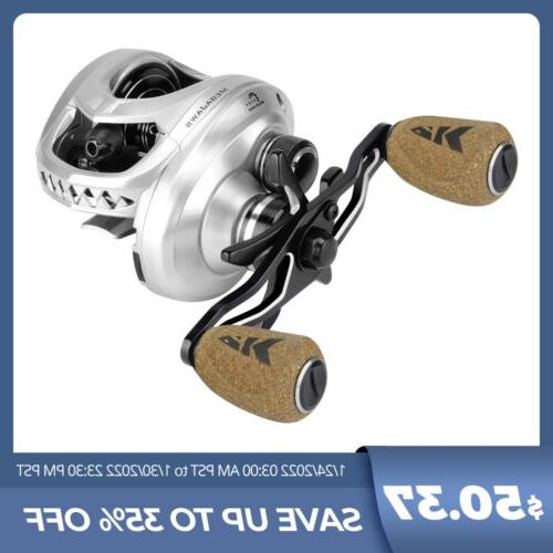 megajaws baitcasting reel 4 color and gear