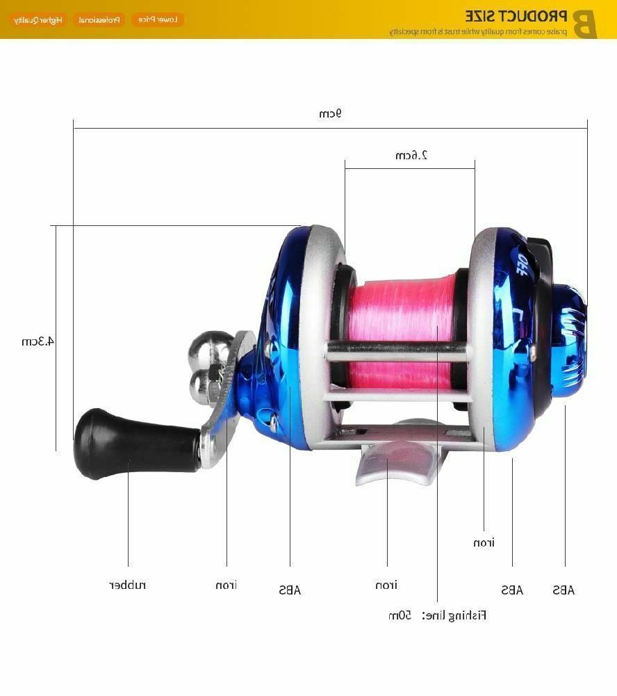 Mini Reel Fishing Fish Wheel