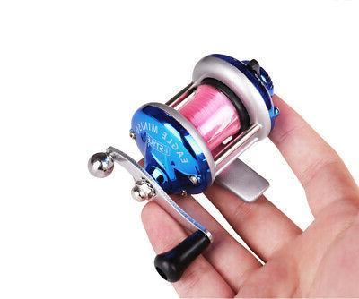 Mini Metal Bait Casting Spinning Reel Water
