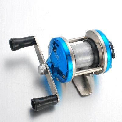 mini metal bait casting spinning reel ice
