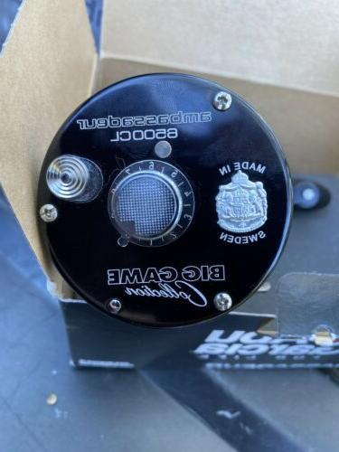 new 6500bcr black ambassadeur catfish edition baitcast