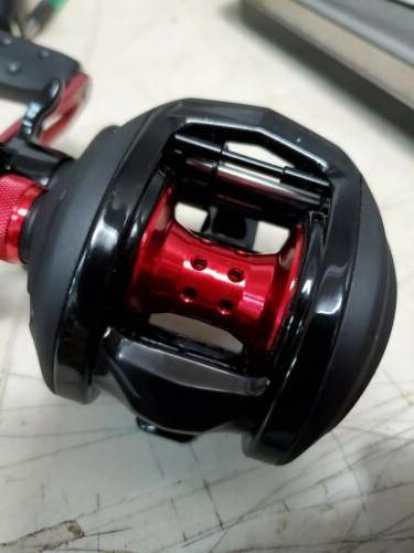 new black max 3 baitcast fishing reel