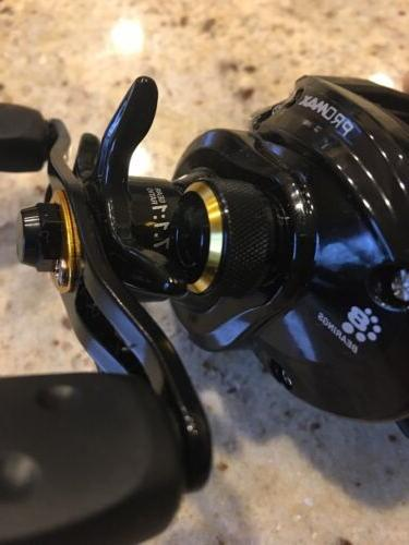 New Abu Max3 Low Profile Fishing Reel PMAX3 Gears