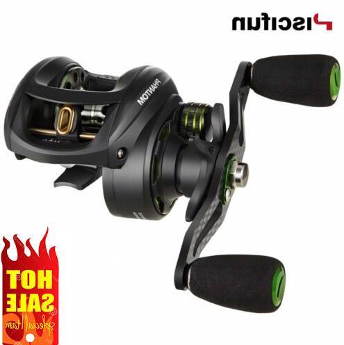 phantom carbon fiber ultralight 162g baitcasting reel