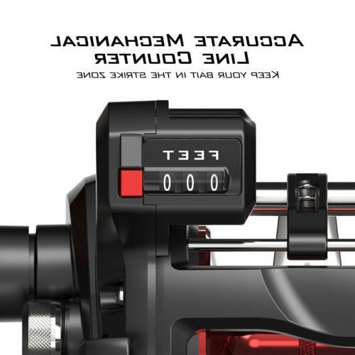 KastKing ReKon Reel Baitcasting Wheel w/ Line Counter US