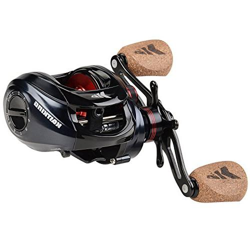 KastKing Baitcasting Fishing Reel Ultra Smooth Drag, Ratio,11 + 1 Ball Bearings, Knobs