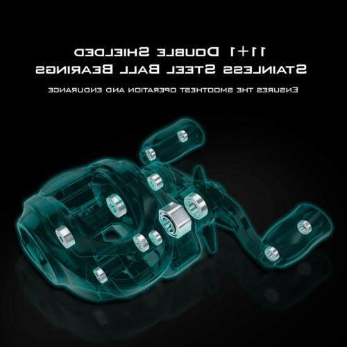 KastKing Legend Baitcasting Reels Elite - 4 Gear