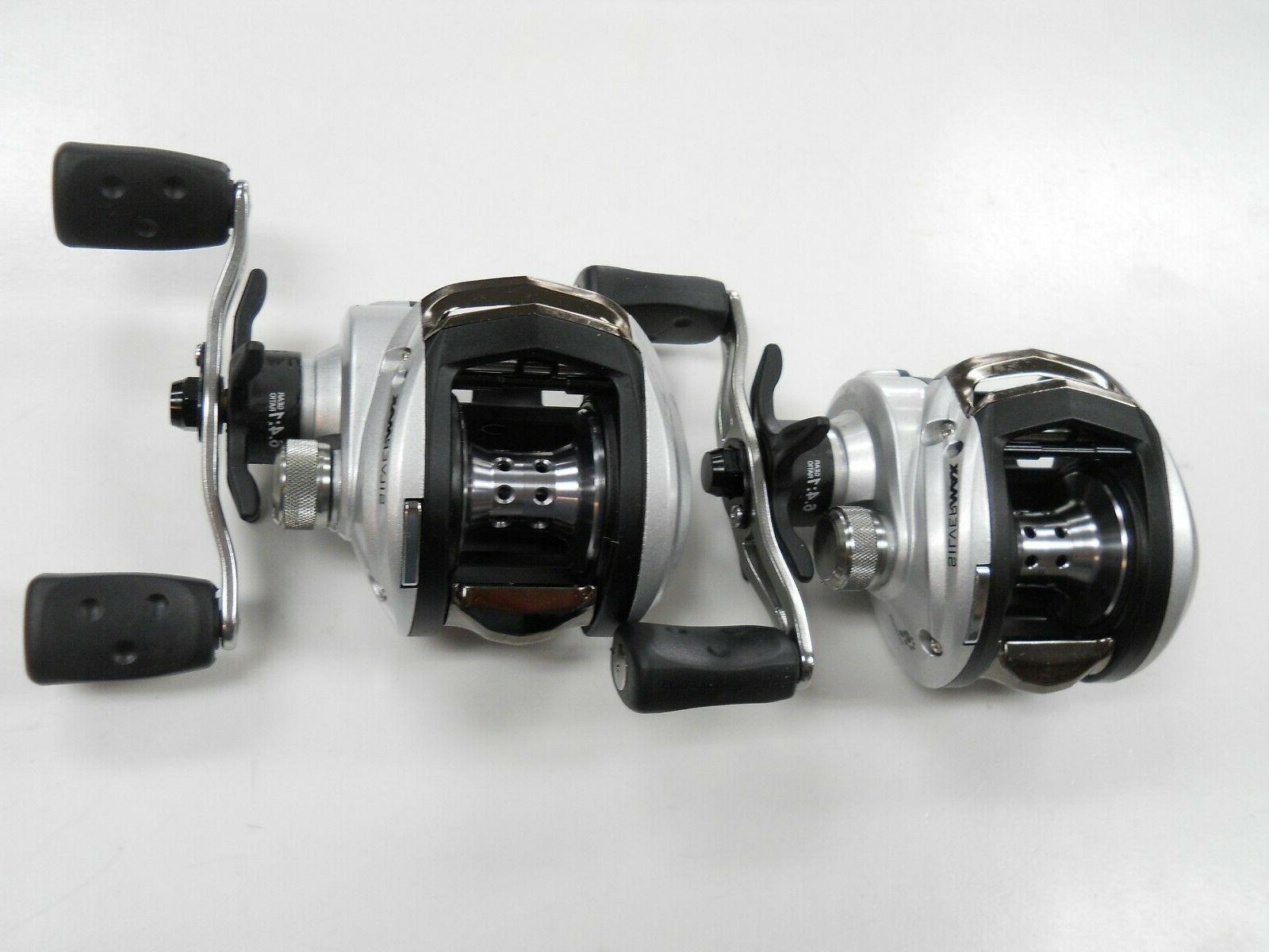 silver max baitcasting reels 2 brand new