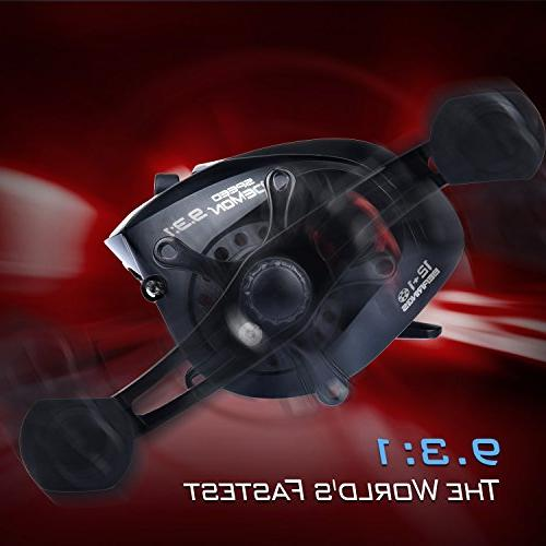KastKing Baitcasting Fishing Reel World's Fastest 12+1 – Fiber Drag.