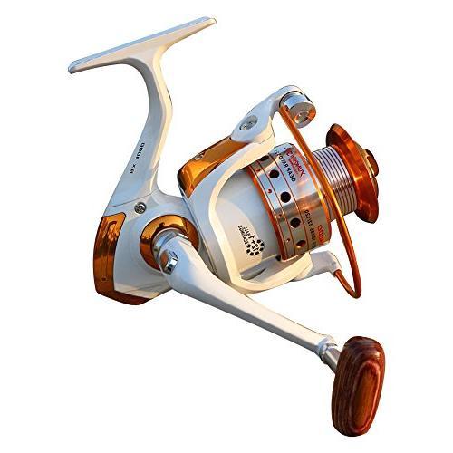 spinning fishing reel water drap