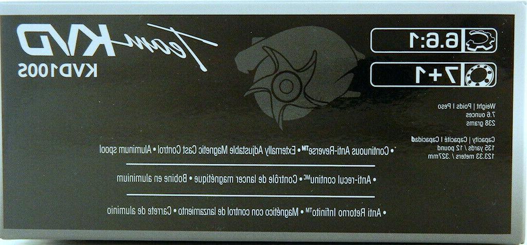 Quantum KVD Tuned KVD100S 6.6:1 Reels Brand